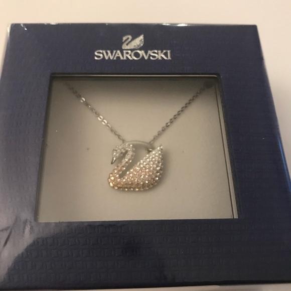bf224221c5efca Swarovski Jewelry | Auth Iconic Swan Pendant | Poshmark
